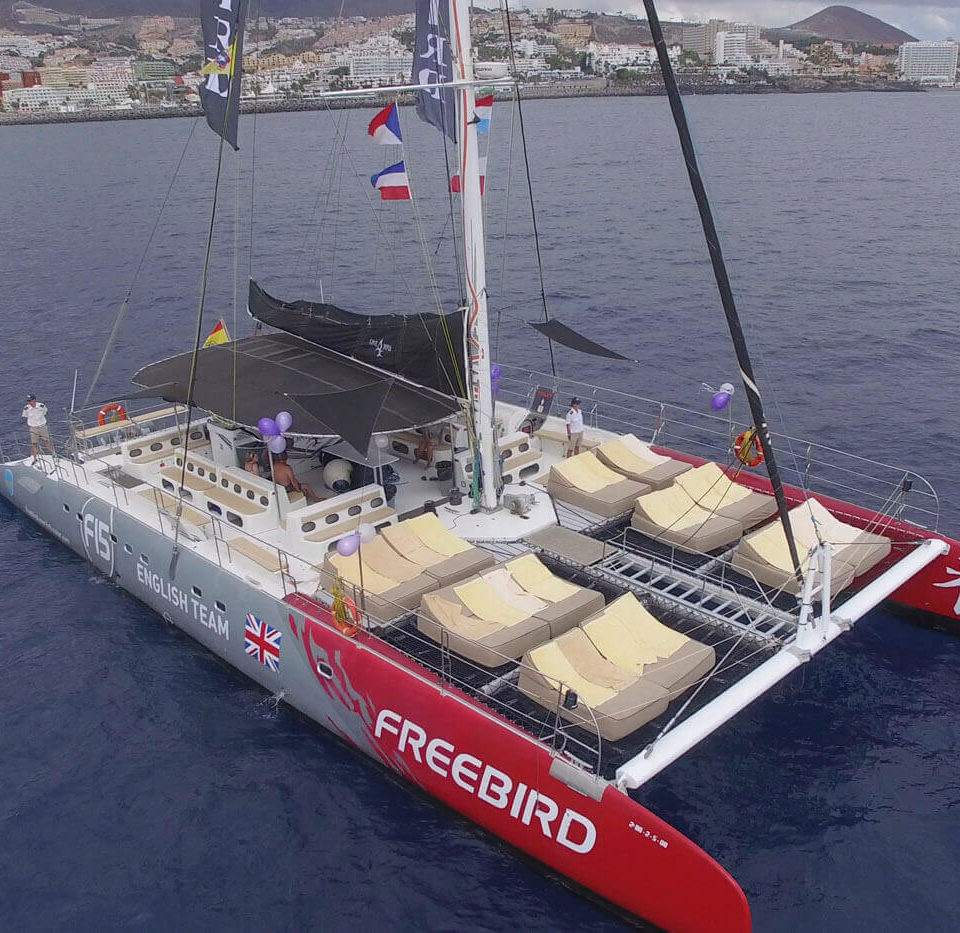 Hamcas del Freebird Catamarans F15 One 4 You