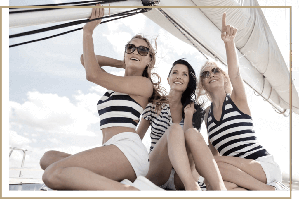 Private events on catamaran