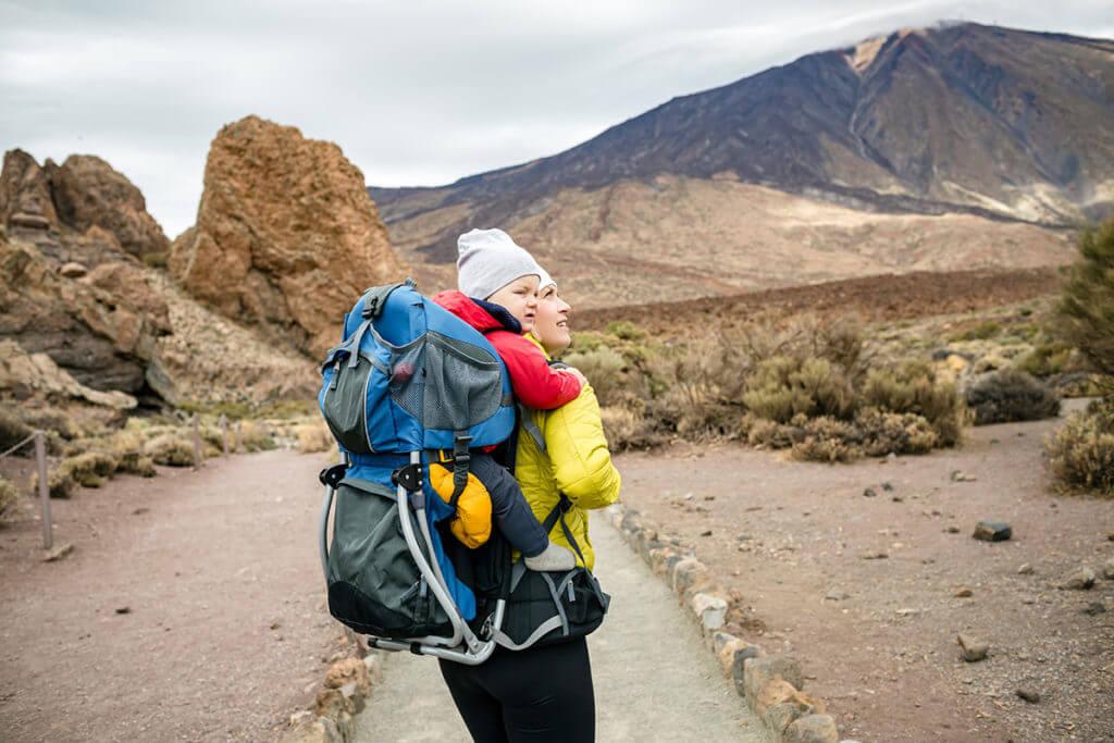 Visitar el Parque Nacional de El Teide en familia
