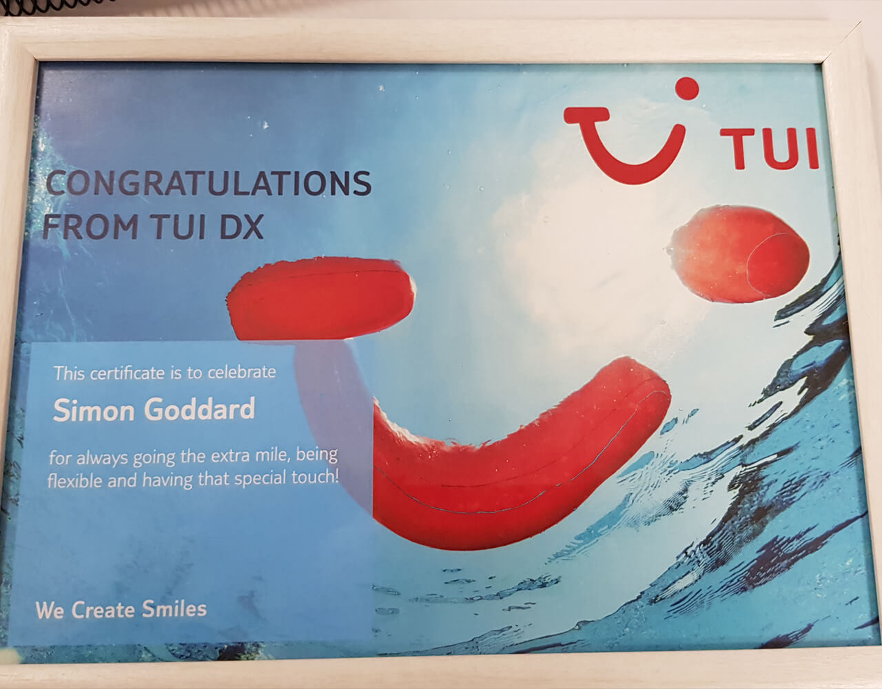 TUI Smile awards was held in Tenerife