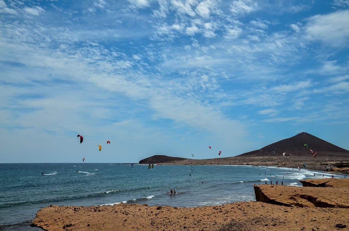 El Medano kitesurf
