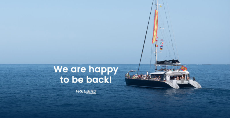 We are happy to be back!